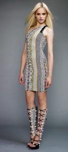 молодежные платья 2011 Versace