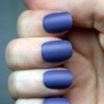 синий модный маникюр 2011 фото