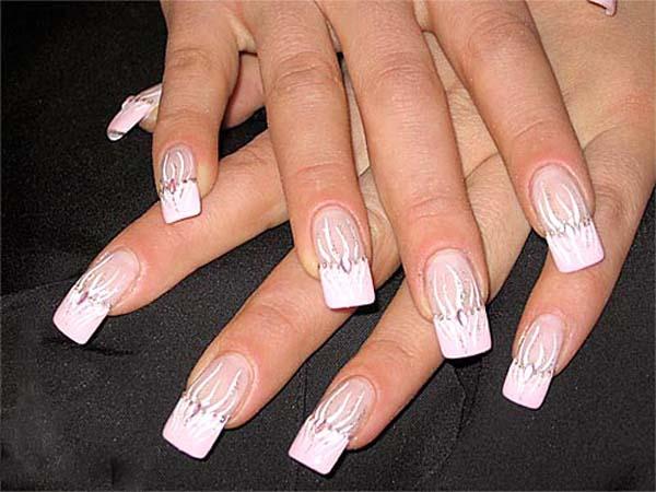 Простой дизайн на ногтях в домашних условиях фото