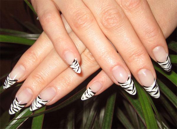 Фото ногтей с французским маникюром