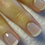 френч  маникюр на коротких ногтях фото 3