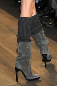 гетры с обувью на каблуке фото