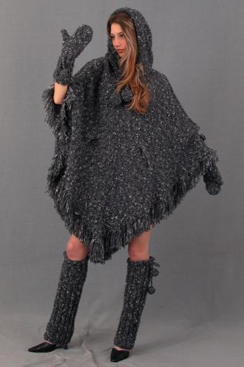 Вязаные платья и гетры
