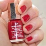 красный маникюр на коротких ногтях фото