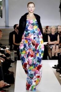 цветочные принты мода весна-лето 2011 фото