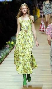 романтическая мода весна-лето 2011 фото
