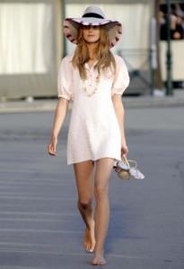 мода весна-лето 2011 романтический стиль фото
