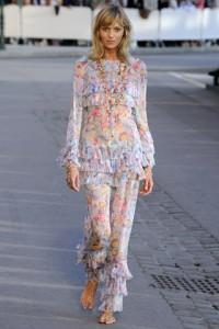 романтизм в моде весна-лето 2011 фото