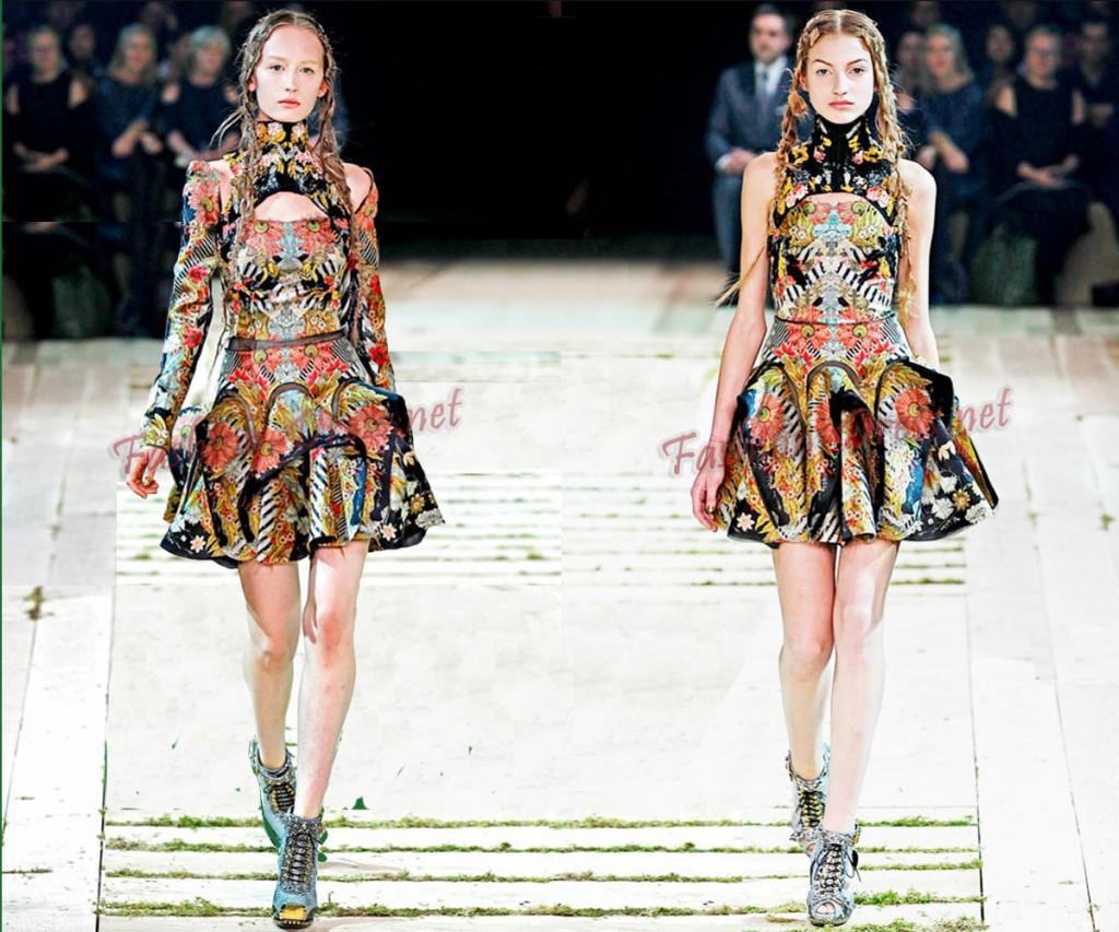 мода весна-лето 2011 этнический стиль фото
