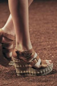 мода весна-лето 2011 материалы фото