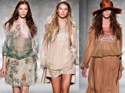 мода весна-лето 2011 ткани фото