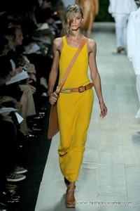 модные желтые цвета 2011
