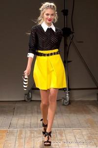 желтые модные цвета 2011 фото