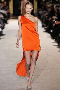 оранжевый модный цвет 2011 фото