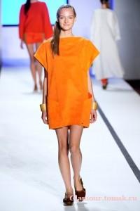 оранжевый цвет 2011 фото
