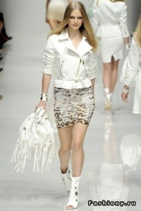 белые модные куртки весна-лето 2011 фото