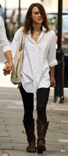 Белая рубашка: актуальная простота