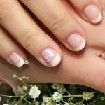 свадебный маникюр на коротких ногтях фото 1