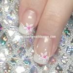 свадебный маникюр на коротких ногтях фото 2