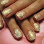 свадебный маникюр на коротких ногтях фото 3