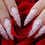 красивый свадебный маникюр фото 6