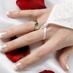 френч свадебный маникюр фото 1