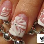 свадебный маникюр на коротких ногтях фото 6