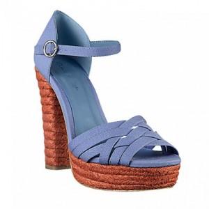 синие эспадрильи Miss Selfridge