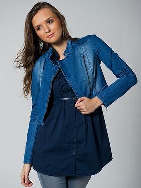 джинсовая куртка 2011 необычного покроя
