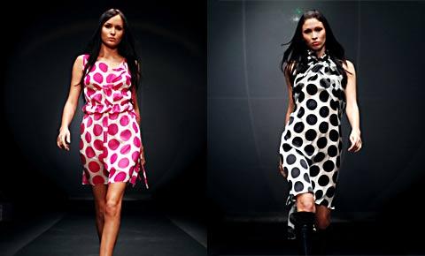 Модный портал. модные платья в горошек - Все о моде