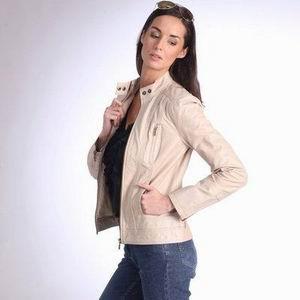 женская белая кожаная куртка ларедут 2011 2012