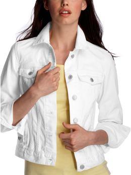 белая джинсовая куртка 2011