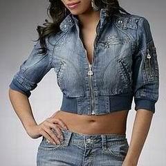 укороченная джинсовая куртка 2011