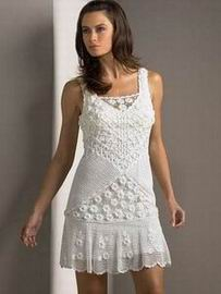 белый ажурный сарафан 2011