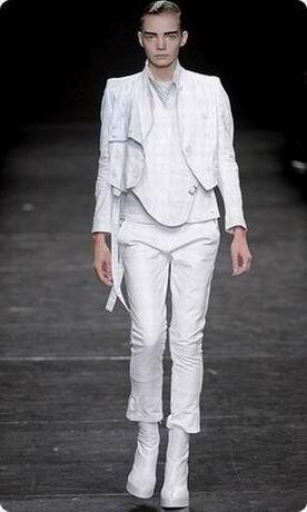 модная белая куртка осень зима 2011 2012