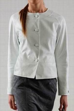 белая кожаная куртка 2011 2102