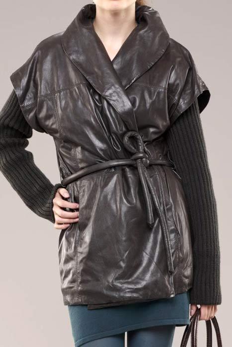 Модная куртка свободного покроя осень