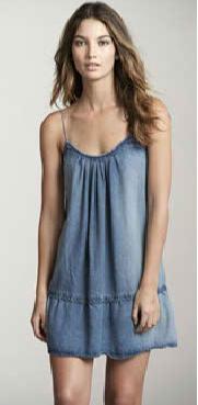 модный джинсовый сарафан 2011