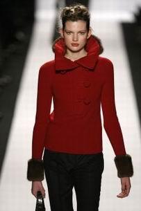 красная куртка осени 2011