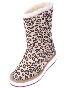 модные леопардовые угги зима 2011-2012