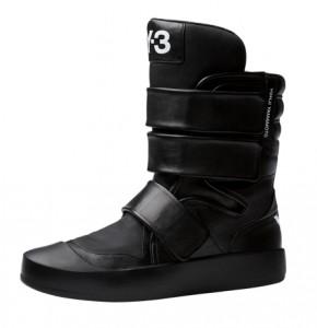 адидас сапоги без каблука черные 2011 2012
