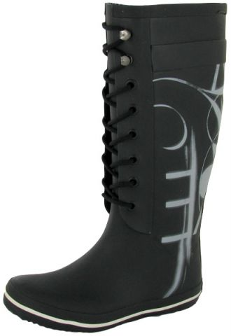 резиновые сапоги осень-зима 2011-2012 со шнуровкой