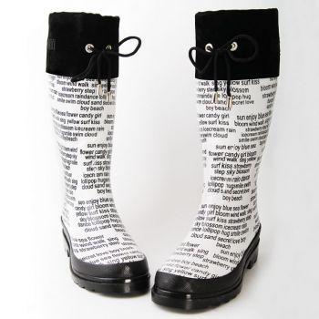 модные сапоги keddo осень зима 2011 2012 со шнуровкой