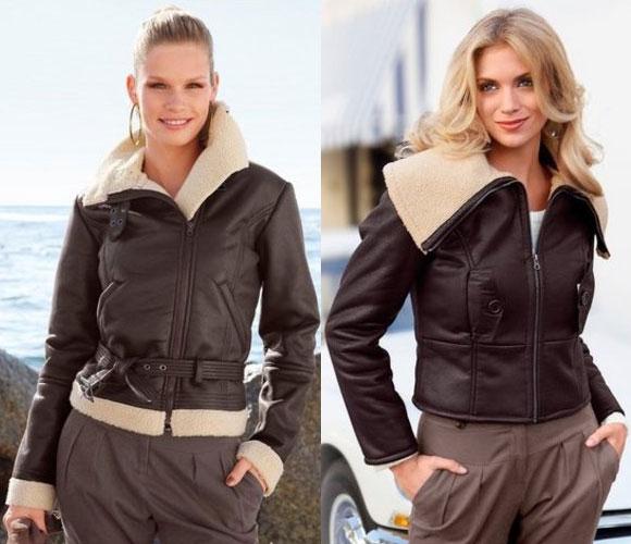 кожаные куртки женские зима 2012