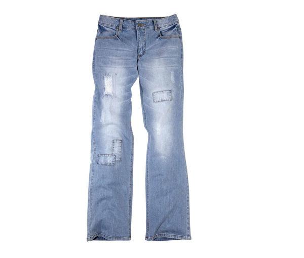 модные просторные джинсы 2012