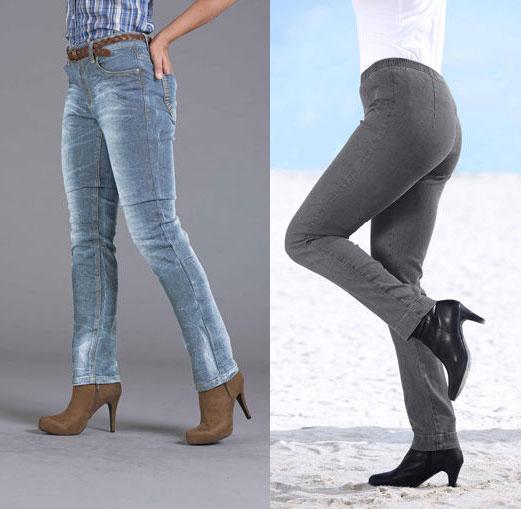 модные узкие джинсы 2012