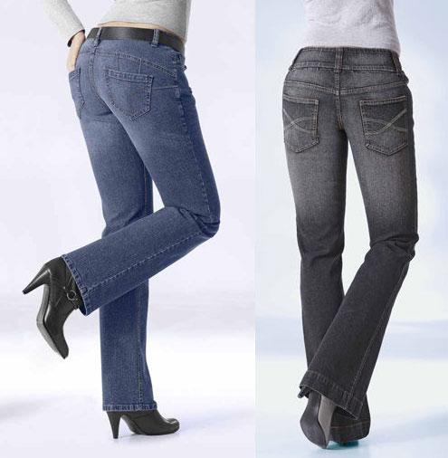 модные джинсы клеш 2011-2012