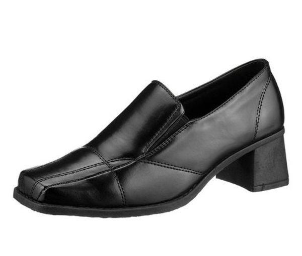 женские черные ботинки осень-зима 2011-2012