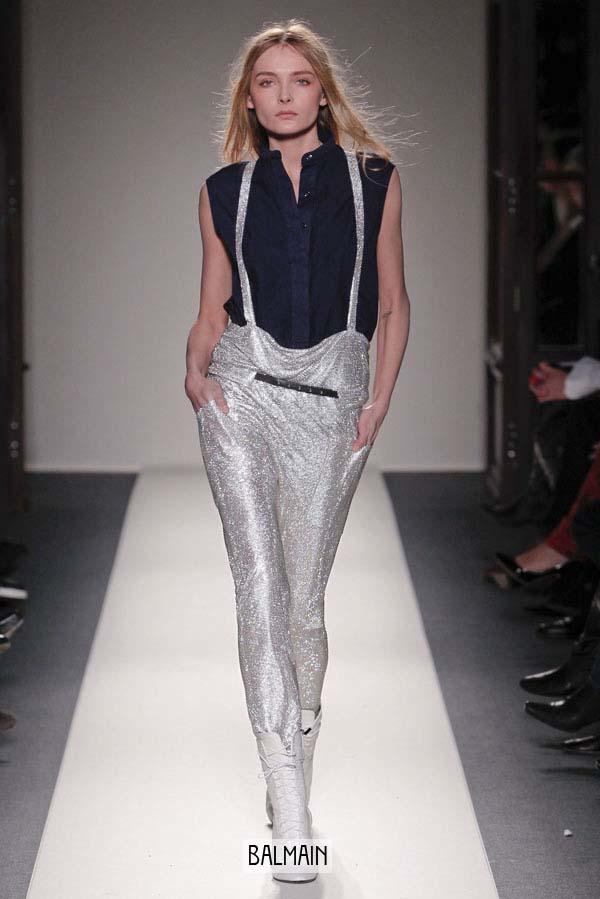 серебристые брюки 2011-2012