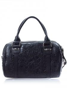 модная черная сумка осень-зима 2011-2012 eleganzza